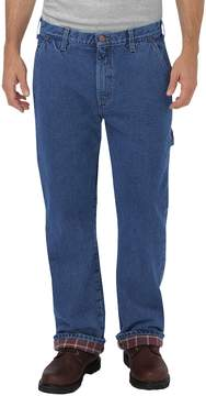 Dickies Men's Flannel-Lined Carpenter Jeans