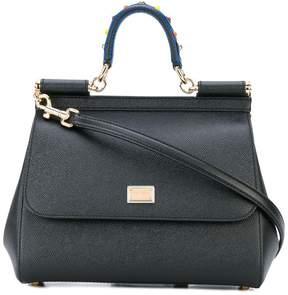Dolce & Gabbana small Sicily shoulder bag - BLACK - STYLE