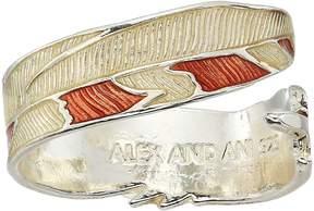 Alex and Ani Snowy Owl Ring Wrap - Precious Metal Ring