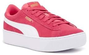 Puma Vikky Platform Suede Sneaker (Big Kid)