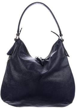 Henri Bendel Leather Zip Hobo