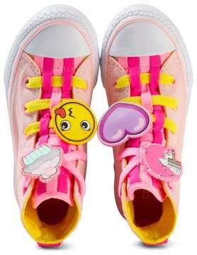 Converse Pink Chuck Taylor All Star Emoji Hi-Tops