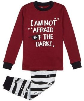 Petit Lem Little Boy's Two-Piece Pirate Pajamas
