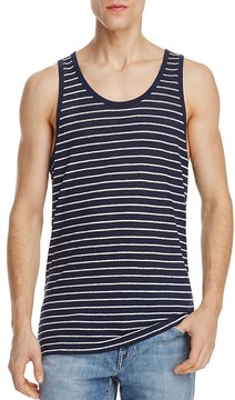 ATM Anthony Thomas Melillo Striped Linen Jersey Tank