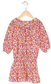 Gucci Girls' Printed Drop Waist Dress