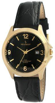 Peugeot Men's Leather Watch - 2035