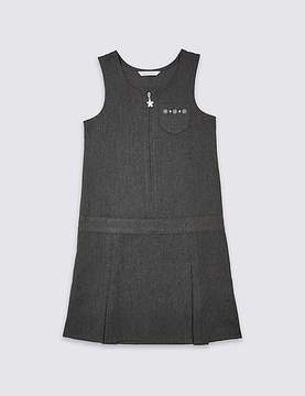 Marks and Spencer Girls' Embroidered Pinafore