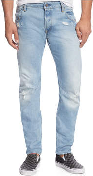 G Star Arc 3D Slim-Fit Ripped & Destroyed Jeans