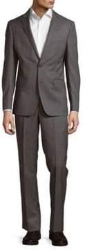 DKNY Stripe Wool Suit