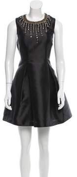 Cynthia Rowley Embellished Sleeveless Dress