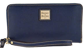 Dooney & Bourke Saffiano Large Zip Around Wallet - ONE COLOR - STYLE
