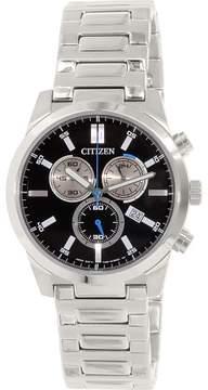 Citizen Men's AN7050-56F Silver Stainless-Steel Quartz Fashion Watch