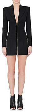 Balmain Women's Tuxedo-Inspired Wool Minidress