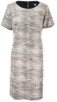 Tommy Hilfiger Women's London Tweed Shift Dress