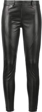 Faith Connexion leather effect trousers