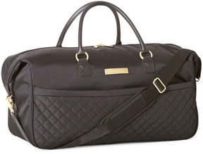 Liz Claiborne Quilted 22 Wheeled Duffel