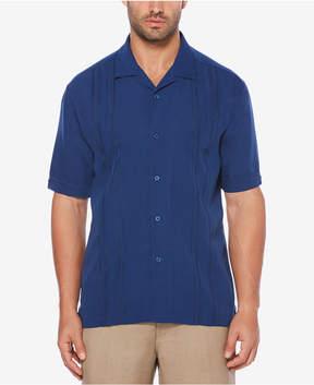 Cubavera Men's Embroidered-Panel Shirt