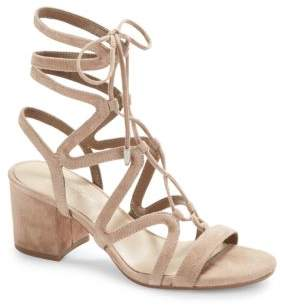 424 Fifth Honey Lace-Up Sandals