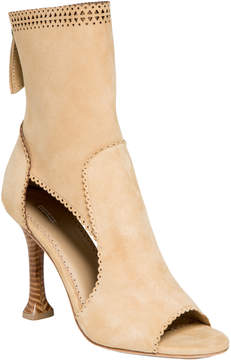 Max Studio ebullient : soft suede ankle heels