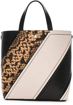 Proenza Schouler Small Embossed Python Hex Tote