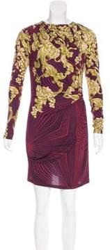 Matthew Williamson Printed Knit Dress