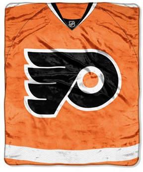 Northwest Company Philadelphia Flyers 50x60in Plush Throw Jersey