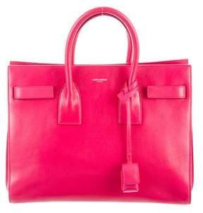 Saint Laurent Leather Sac de Jour Shoulder Bag