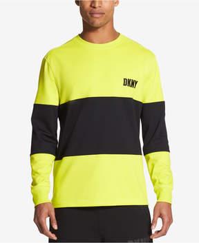 DKNY Men's Athleisure Colorblock Side Zip Sweatshirt, Created for Macy's