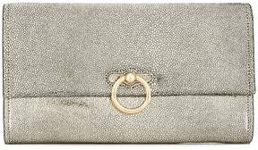 Rebecca Minkoff textured clutch bag