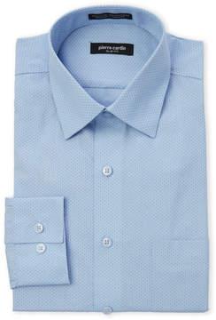 Pierre Cardin Mini Dot Slim Fit Dress Shirt