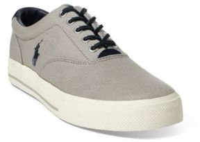 Ralph Lauren Vaughn Canvas Sneaker New Glacier 10.5