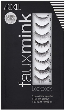 Ardell Faux Mink Lash Lookbook 8 Pairs + Duo