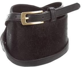 Diane von Furstenberg Ponyhair Waist Belt