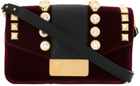 Giuseppe Zanotti Design crystal embellished handbag