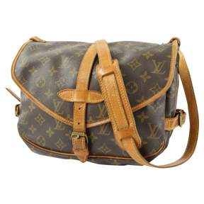 Louis Vuitton Saumur cloth crossbody bag - BROWN - STYLE