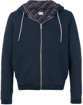 Moncler Gamme Bleu Maglia zipped hoodie