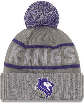 New Era Sacramento Kings Court Force Pom Knit Hat