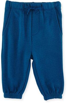 Stella McCartney Zachary Basic Sweatpants, Blue, Size 12-36 Months