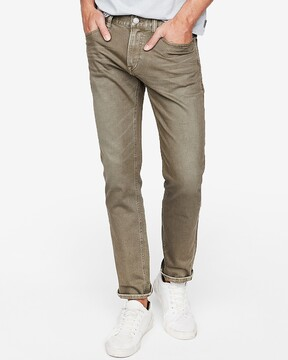 Express Slim Garment Dyed Stretch Jeans