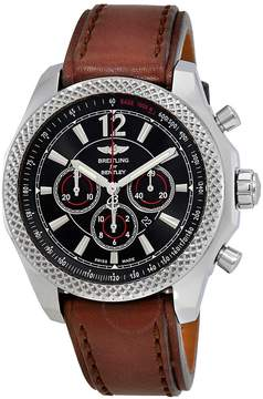 Breitling Bentley Barnato Chronograph Automatic Black Dial Men's Watch
