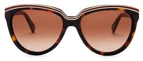 Diane von Furstenberg Mila 56mm Cat Eye Sunglasses