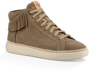 UGG Men's Cali Suede Lace High Fringe High Top Sneakers