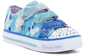 Skechers Shuffles Lookin Lovely Light-Up Sneaker (Little Kid)
