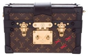 Louis Vuitton Monogram Petite Malle - BROWN - STYLE
