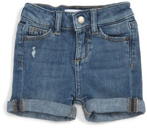 DL1961 Infant Girl's Kaley Stretch Denim Shorts