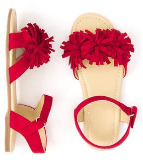 Gymboree True Red Pom-Pom Sandal - Girls