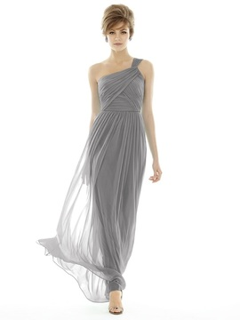 Alfred Sung D691 Bridesmaid Dress in Quarry