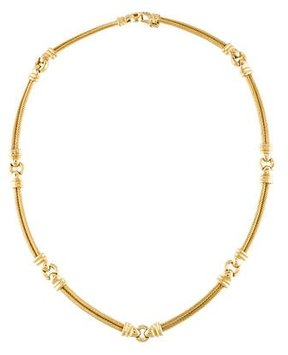 Charriol 18K Cable Collar