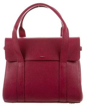 Shinola Textured Leather Satchel