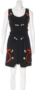 Alice McCall Embroidered Mini Dress